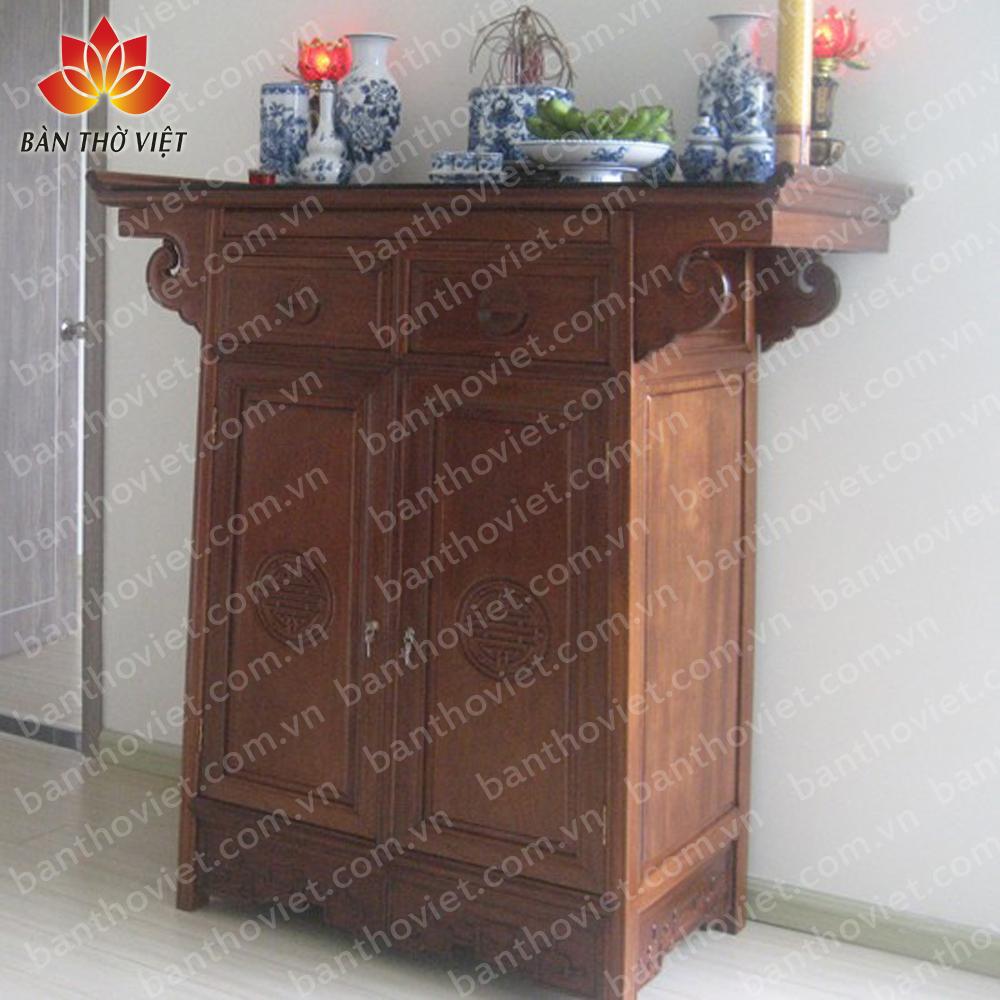 Có nên mua tủ thờ gỗ gụ hay không?