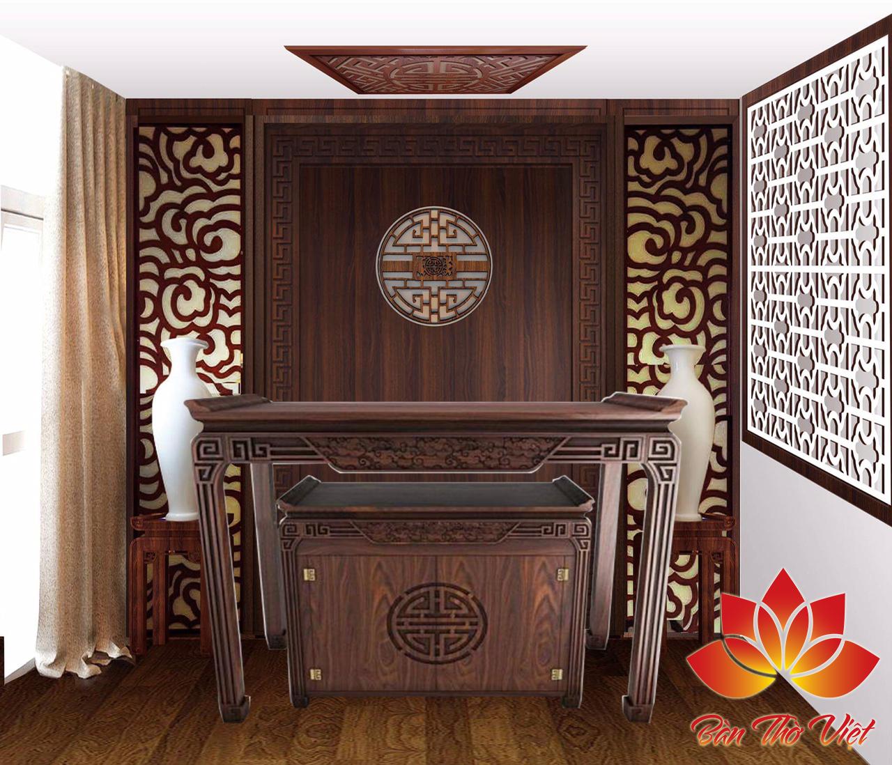 Các đặc điểm của tủ thờ bình dân
