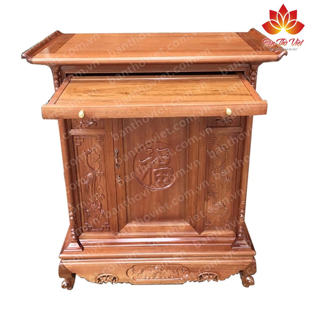 Một số mẫu tủ thờ gỗ hương được yêu thích nhất