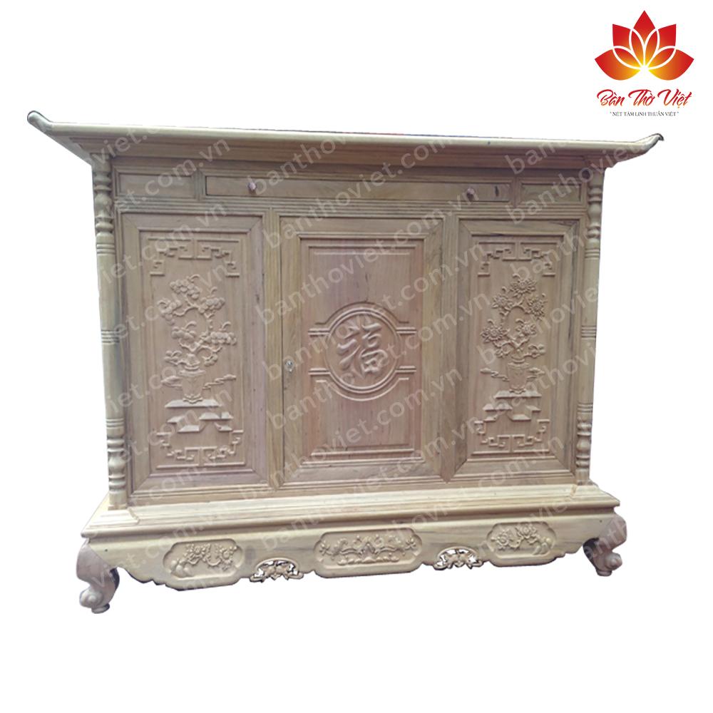 Một số mẫu tủ thờ gỗ mít đẹp trên thị trường