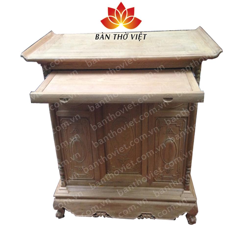 Một số mẫu tủ thờ gia tiên đẹp tại Bàn thờ Việt