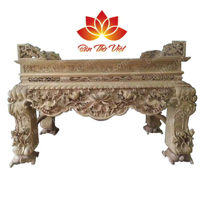 Các mẫu bàn thờ Miền Nam các niên đại khác nhau có gì nổi bật?