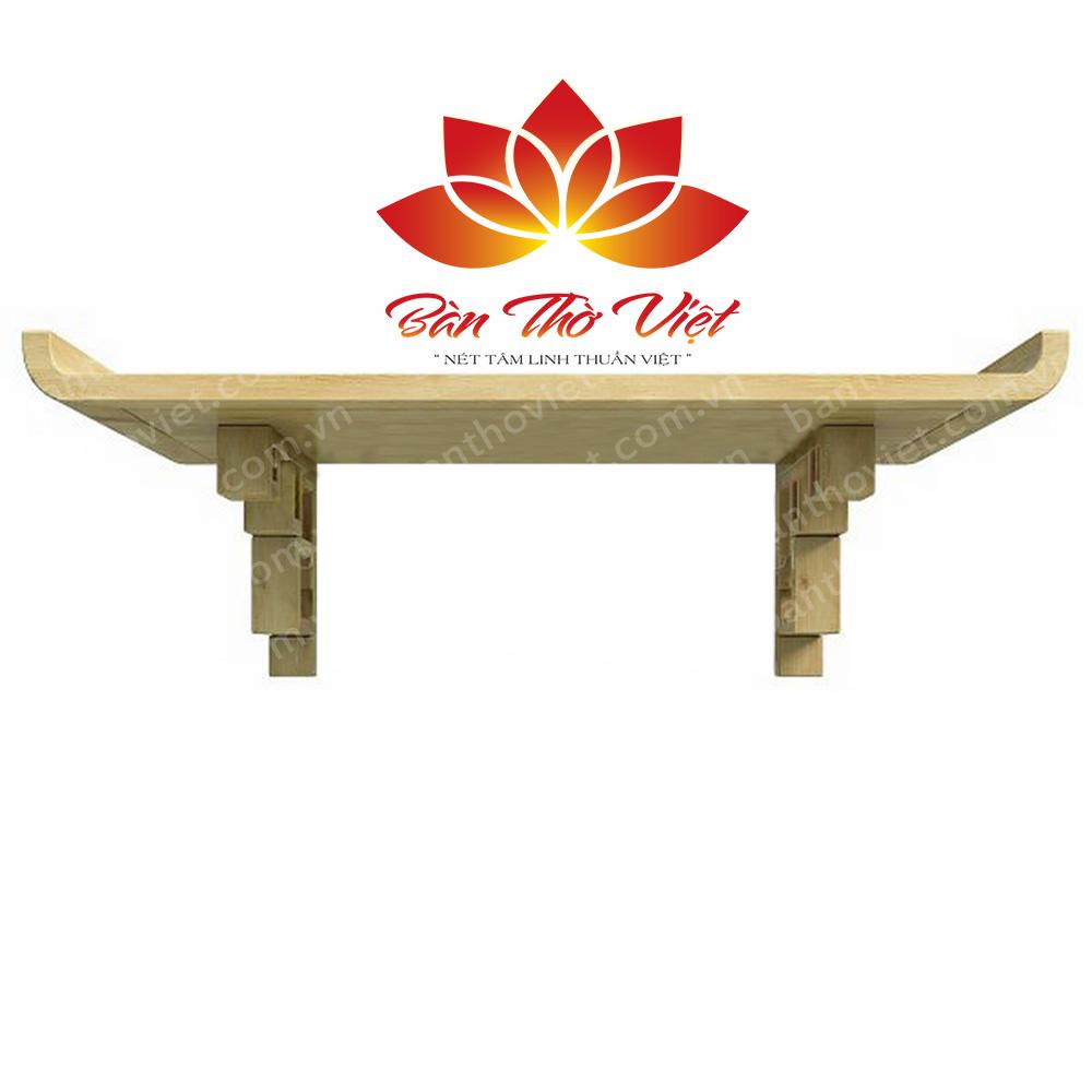 Một số mẫu bàn thờ treo gỗ hương đẹp hiện nay
