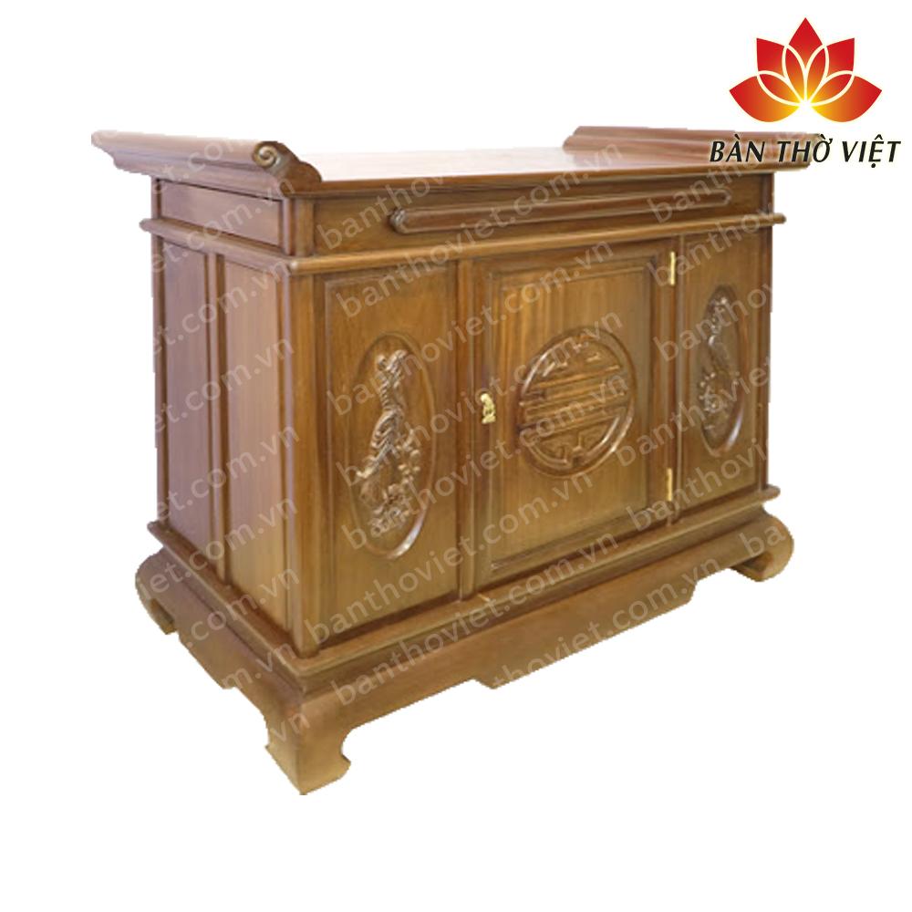 Những mẫu tủ thờ gỗ dâu được yêu thích nhất 2019