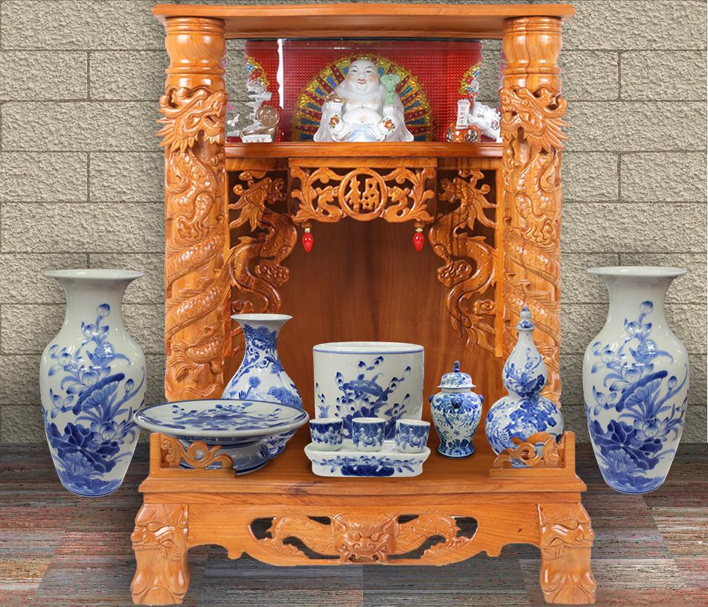 Một số mẫu bàn thờ thần tài đẹp giá rẻ hiện nay