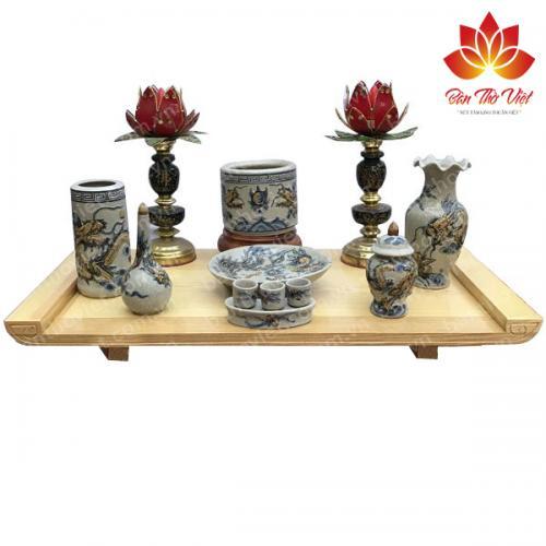 Các mẫu bàn thờ treo phòng khách đẹp trên thị trường