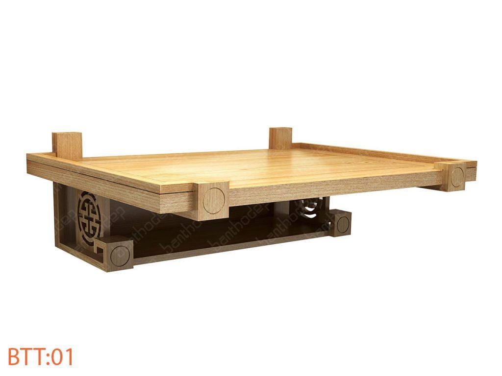 Những mẫu bàn thờ treo tường 2 tầng sang trọng và đẳng cấp nhất