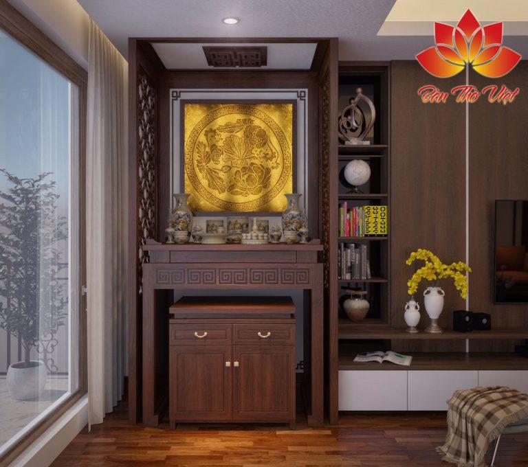 Những mẫu tủ thờ Phật Bà Quan Âm tại Gia đẹp năm 2020