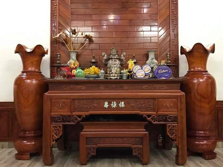 Địa chỉ uy tín tìm mua sập thờ chữ Phúc tại Hà Nội